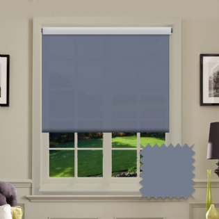 Blue Roller Blind - Astral Nato